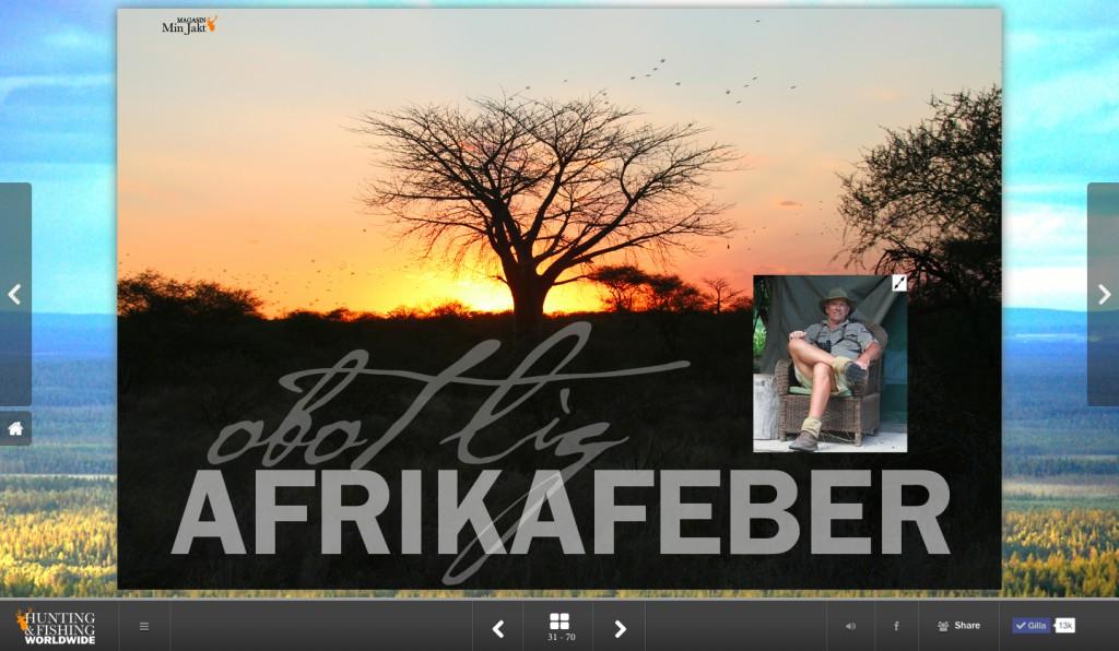 Afrikafeber stort web